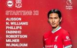 TRỰC TIẾP Brighton vs Liverpool: Minamino đá chính (Đội hình ra sân)