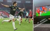 Cavani cứu Man Utd từ cõi chết, Pogba thực hiện ngay 1 động thái