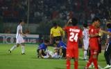 Việt Nam hòa Myanmar, trọng tài bị 'ném đá' không thương tiếc