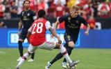 Thấy gì từ trận hòa 2-2 của Arsenal trước Real Madrid?