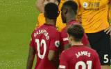 Rashford nói gì khi Pogba xin đá penalty?