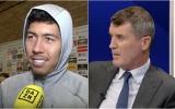 Đồng hương ở Man Utd bị Keane 'sỉ vả', Firmino đáp trả cực chất
