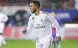 Real-Hazard-Ronaldo, cái tát cho 'sự vô ơn' của Los Blancos
