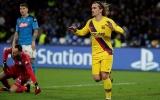 Thay Messi 'cứu' CLB, Griezmann giúp Barca giành lợi thế trước Napoli