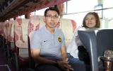 Có bà xã xinh đẹp đồng hành, HLV Tan Cheng Hoe quyết hạ Việt Nam trên sân Mỹ Đình
