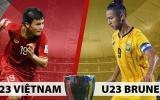 TRỰC TIẾP U23 Việt Nam 0-0 U23 Brunei (H1): Đức Chinh, Thanh Bình đá chính, Quang Hải dự bị
