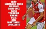 TRỰC TIẾP Arsenal - Sheffield United: Sao trẻ người Brazil thay thế Aubameyang