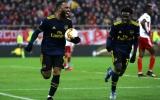 Lacazette vụt sáng cuối trận, Arsenal chấm dứt thành công chuỗi bất bại của Olympiakos