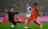 'Lukaku 2.0' tỏa sáng, Bỉ đè bẹp Iceland trên sân nhà