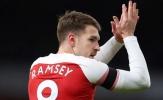 Đây, 4 sơ đồ chiến thuật giúp Ramsey 'hóa rồng' nếu chuyển sang Juventus