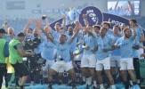 Kompany cùng các đồng đội 'gầm thét' với chức vô địch EPL thứ 2 liên tiếp