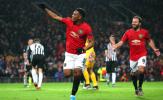 Song sát nổ súng, Man United chính thức đi tiếp ở Europa League