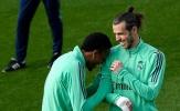 Gareth Bale cười tươi rói, sẵn sàng ra sân đấu Man City?