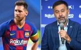 Bartomeu nói thẳng mối quan hệ giữa ông và Lionel Messi