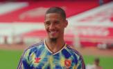 William Saliba tiết lộ 2 ân nhân tại Arsenal