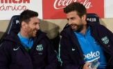 Pique nói lời tâm can về Lionel Messi