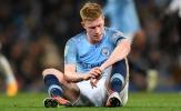 NÓNG: Man City tổn thất lớn trước đại chiến Man Utd