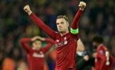 Thú vị: Đội trưởng Liverpool bỏ lỡ khoảnh khắc lịch sử