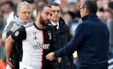 """Đội bóng cũ của Rooney muốn """"giải cứu"""" Higuain từ Juve"""