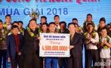 Quảng Nam FC nhận 'mưa' tiền thưởng ở lễ xuất quân V-League 2018