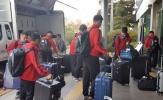 ĐT Việt Nam đã có mặt tại Hàn Quốc, bắt đầu chuyến tập huấn 14 ngày