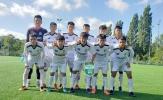 U18 HAGL JMG nhận thất bại đậm ở trận giao hữu cuối cùng tại Hà Lan