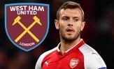 Jack Wilshere 'tiến thoái lưỡng nan' với động thái mới nhất từ West Ham