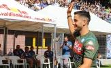 Bản hợp đồng 35 triệu euro có buổi tập đầu tiên cùng Napoli