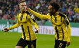 Dortmund thăng hoa, đá bay Hùm xám khỏi Cúp Quốc gia