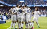 Đội hình hai của Real dễ dàng hủy diệt Deportivo trong cơn mưa bàn thắng