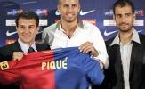 Những cầu thủ từng 'tắm hai lần trên một dòng sông': Thành công từ Pique