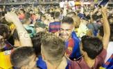 Barca B vui mừng tột độ trong ngày thăng hạng
