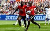 Swansea 0-4 Man Utd: Hiệp hai bùng nổ