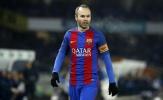 Chán ngán Barca, Iniesta 'đào tẩu' sang nước Anh?