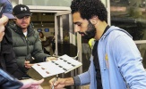 Mohamed Salah được chào đón cuồng nhiệt ở Maribor
