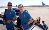 Dàn sao Atletico hành quân đến thủ đô của Azerbaijan