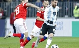 Messi bị 'đeo sát', Aguero giải cứu thành công Argentina