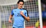 Cavani nổ súng, Uruguay vẫn bại trận trước đội tuyển Áo