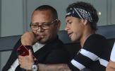 NÓNG: Cha của Neymar dùng bữa với Perez, kích nổ bom tấn 250 triệu euro?