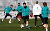 Không khí u ám bao trùm buổi tập của Real Madrid