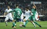 Cú sốc trên Bernabeu, Real Madrid bị đá văng khỏi Cúp nhà Vua