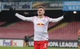 Timor Werner lập cú đúp, RB Leipzig ngược dòng ấn tượng trên đất Ý