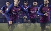 Barca ra mẫu áo đấu mới cực chất