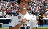 Real Madrid cho ra mắt tân binh đầu tiên