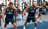 Không Ronaldo, Benzema vẫn tập luyện đầy nỗ lực