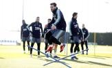 Dàn sao Barca chuẩn bị trước trận derby Catalunya