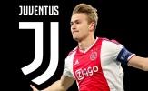 Juventus nổ bom tấn De Ligt, CĐV Man Utd nổi giận