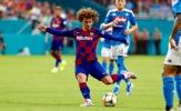 Song sát Suarez-Griezmann cùng ra sân, Barca hạ gục Napoli nhờ hàng tiền vệ