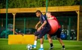 Kylian Mbappe 'chạy nước rút' trước trận đại chiến với Real Madrid