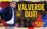Liên tục thua ngược, tại sao Valverde vẫn khó bị BLĐ Barca sa thải?